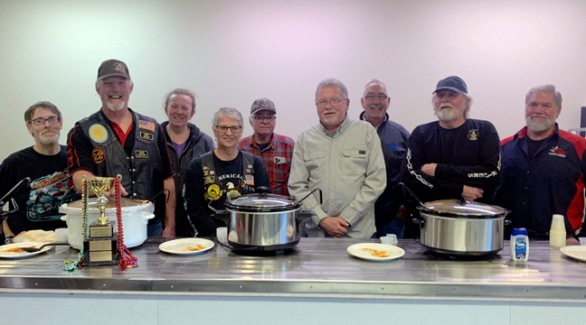 Newly elected 2017 CVBC officers, Co-Secretary Jenny Massmann from American Heritage Bank, Co-Secretary Andrea Zerwas from NovaCare, President Lori Johnson from Johnson Materials Inc., Director Dan Meer from Clear Waters Outfitting, Vice President Steve Timm from Rejoice Lutheran Church, and Treasurer Eron Bordson from Clearwater Family Chiropractic.
