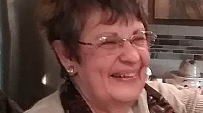 """DIANE JACOBSEN of Big Lake said she was grateful for health, family, a roof over her head, and plenty to eat. She also says, """"I'm grateful I don't have COVID, and I know we'll get past this!"""" (Submitted photo.)"""